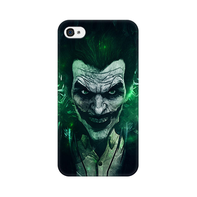 Apple iPhone 4s Joker Green Phone Cover & Case