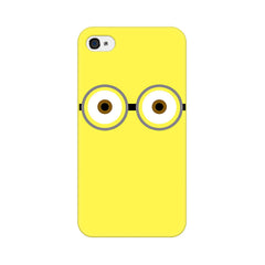 Apple iPhone 4s Minion Big Eyes Phone Cover & Case