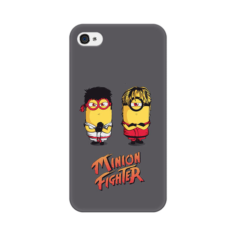 Apple iPhone 4s Minion Fighters Phone Cover & Case