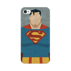 Apple iPhone 4s Superman Minimalist Phone Cover & Case
