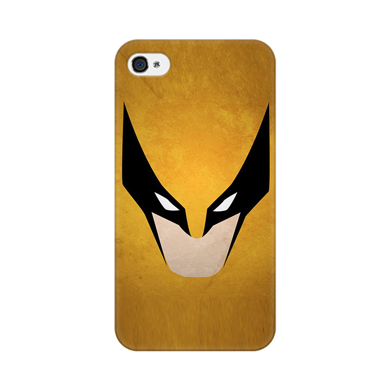 Apple iPhone 4s Wolverine Minimalist Phone Cover & Case