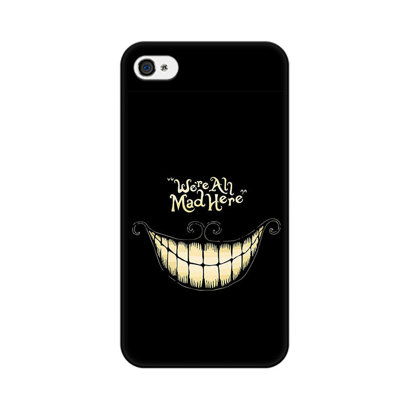 Apple iPhone 4s All Are Mad Phone Cover & Case