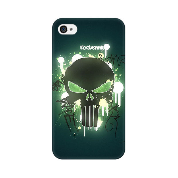 Apple iPhone 4s Angry Skull Phone Cover & Case