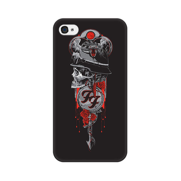 Apple iPhone 4s Badass Skull Phone Cover & Case
