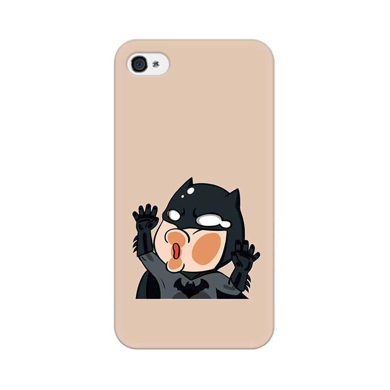 Apple iPhone 4s Batman Stuck On My Phone Phone Cover & Case