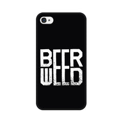 Apple iPhone 4s Beerweed Phone Cover & Case