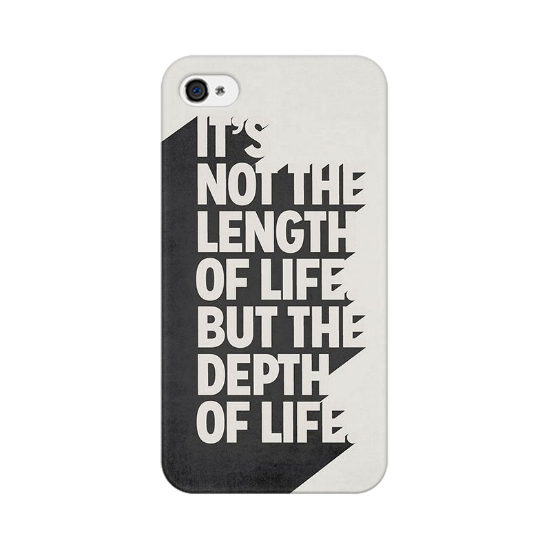 Apple iPhone 4s Depth Of Life Phone Cover & Case