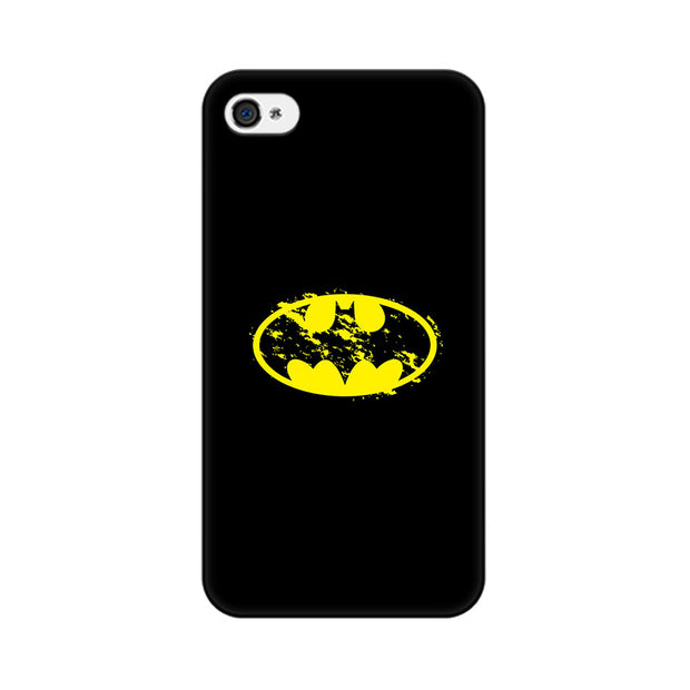 Apple iPhone 4s Flourished Yellow Batman Phone Cover & Case