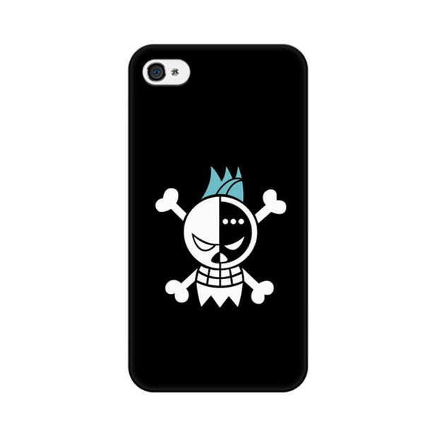 Apple iPhone 4s Fun Pirate Skull Phone Cover & Case
