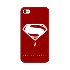 Apple iPhone 4s Man Of Steel Phone Cover & Case