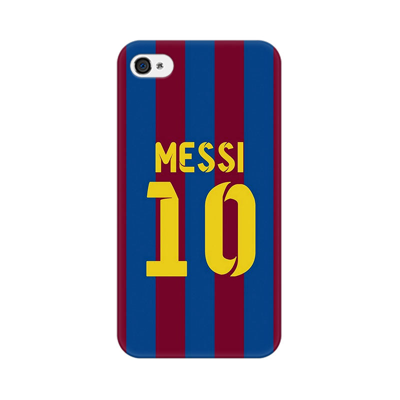 Apple iPhone 4s Messi 10 Phone Cover & Case