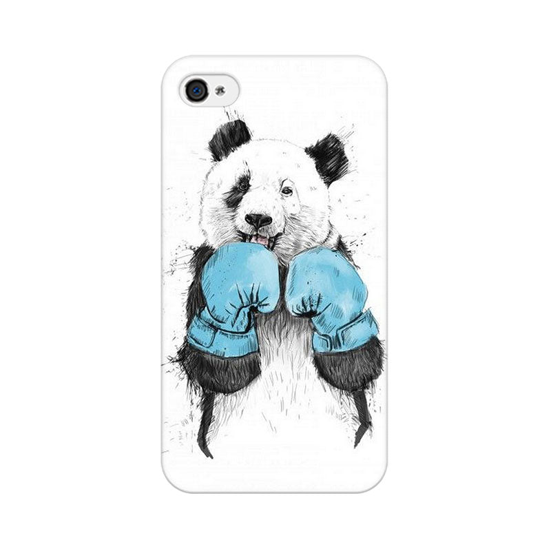 Apple iPhone 4s Panda Boxer Phone Cover & Case