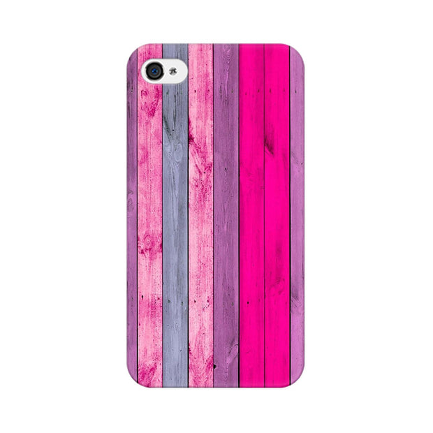 Apple iPhone 4s Pink Wood Shade Phone Cover & Case