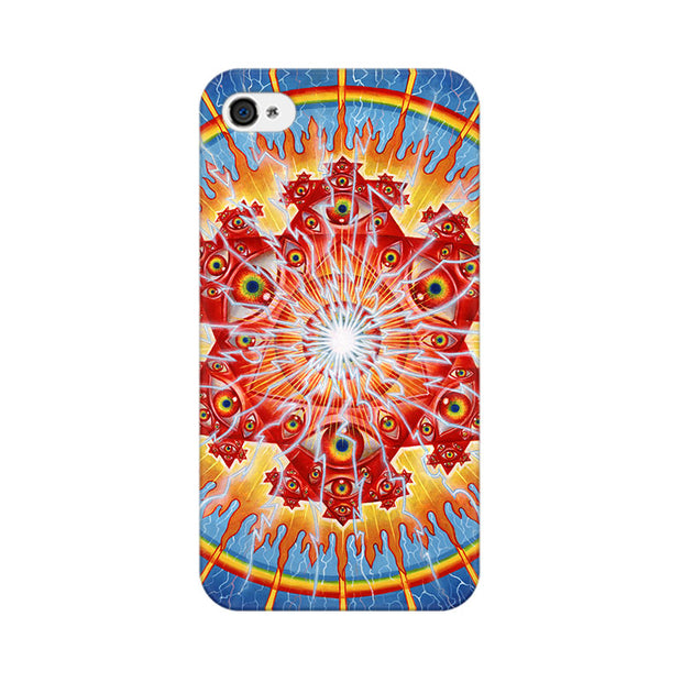 Apple iPhone 4s Psychedelic Eyes Phone Cover & Case