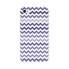 Apple iPhone 4s Purple Chevron Shades Phone Cover & Case