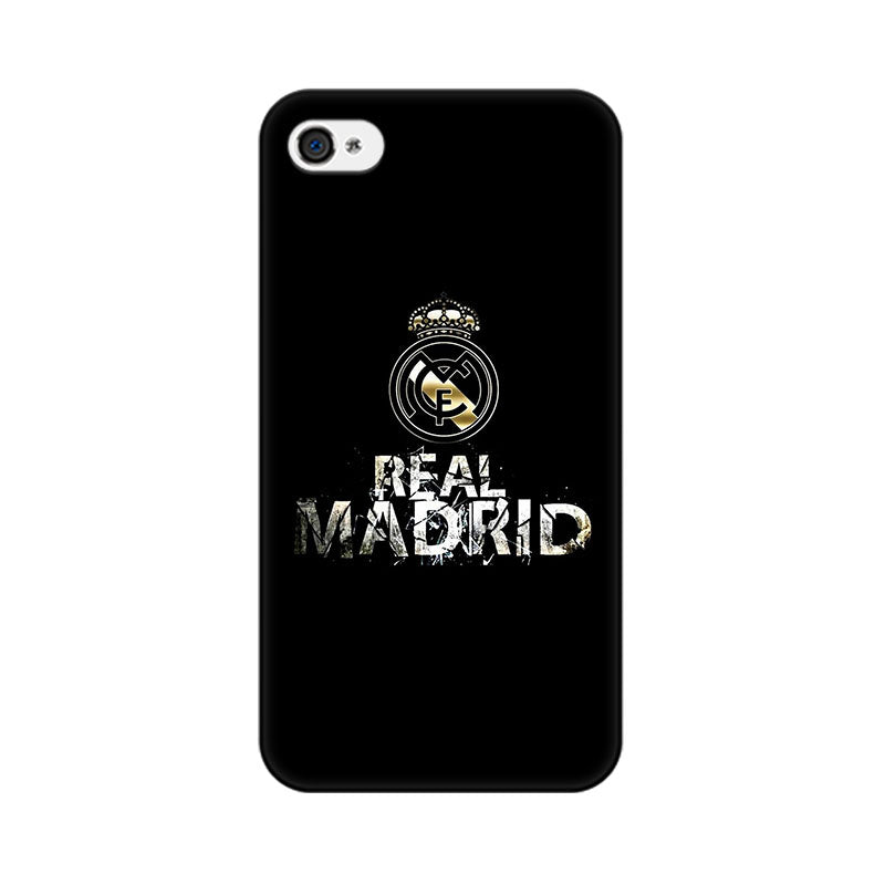 Apple iPhone 4s Real Madrid Phone Cover & Case