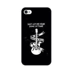 Apple iPhone 4s Rock And Roll Phone Cover & Case