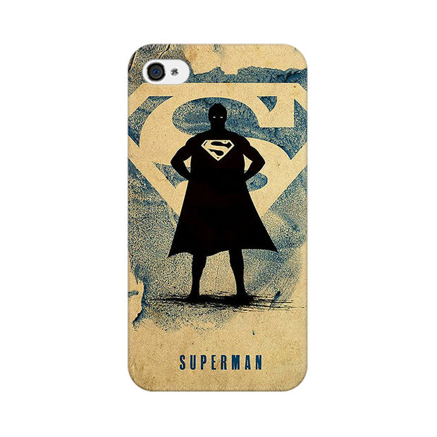 Apple iPhone 4s Superman Standing Phone Cover & Case