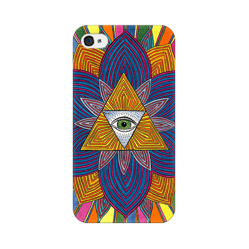 Apple iPhone 4s The Eye Phone Cover & Case