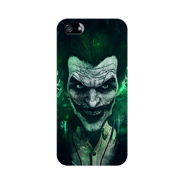 Apple iPhone 5 Joker Green Phone Cover & Case