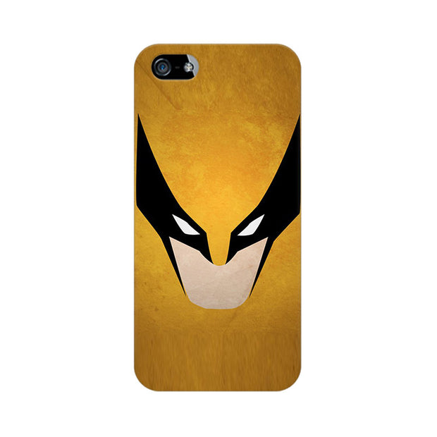 Apple iPhone 5 Wolverine Minimalist Phone Cover & Case