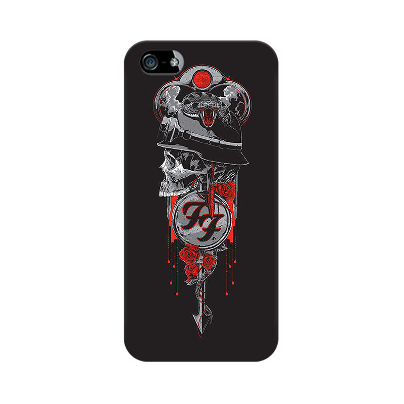Apple iPhone 5 Badass Skull Phone Cover & Case