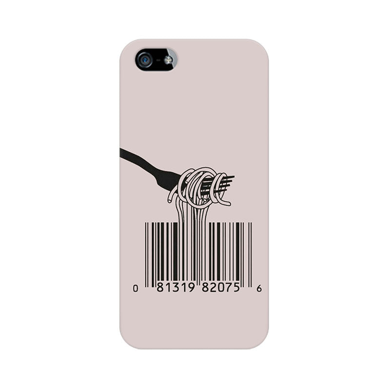 Apple iPhone 5 Barcode Noodels Phone Cover & Case