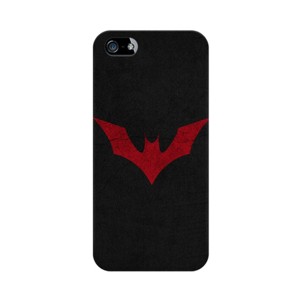Apple iPhone 5 Batman Red Logo Phone Cover & Case