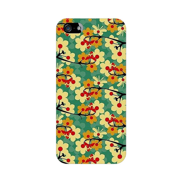Apple iPhone 5 Flower Pattern Phone Cover & Case