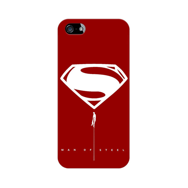 Apple iPhone 5 Man Of Steel Phone Cover & Case