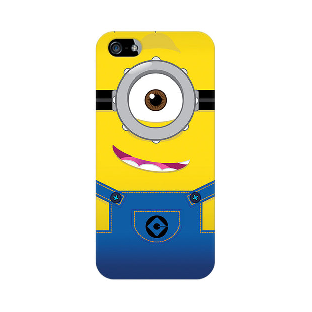 Apple iPhone 5 Smiley Minion Phone Cover & Case