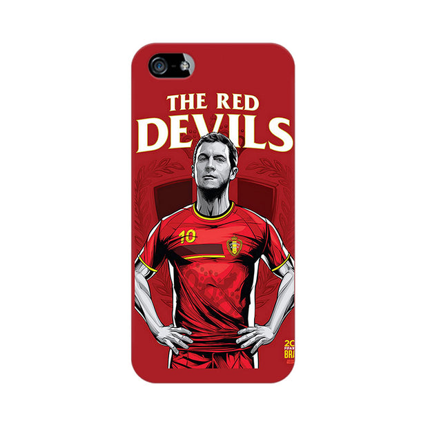 Apple iPhone 5 The Red Devils Phone Cover & Case