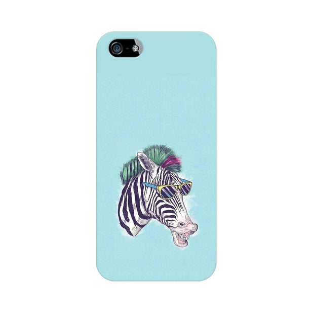 Apple iPhone 5 The Zebra Style Cool Phone Cover & Case