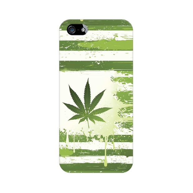 Apple iPhone 5 Weed Flag  Phone Cover & Case