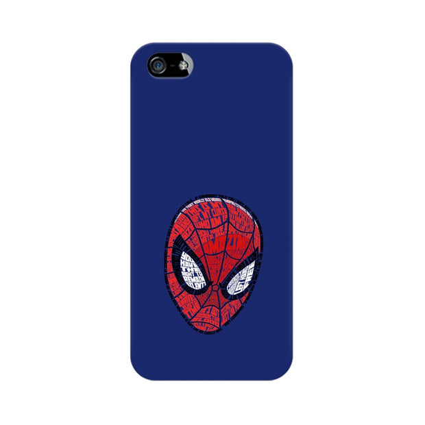 Apple iPhone 5 Spider Man Graphic Fan Art Phone Cover & Case