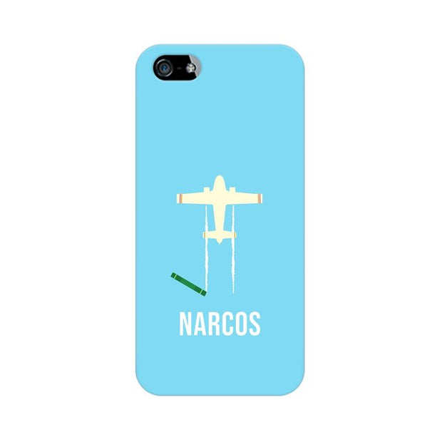 Apple iPhone 5 Narcos TV Series  Minimal Fan Art Phone Cover & Case