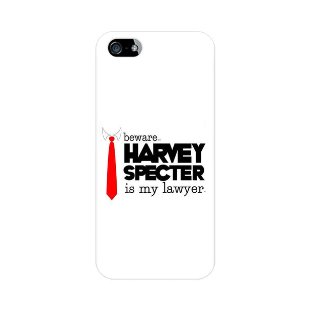 Apple iPhone 5 Harvey Spectre Is My Lawyer Suits Phone Cover & Case