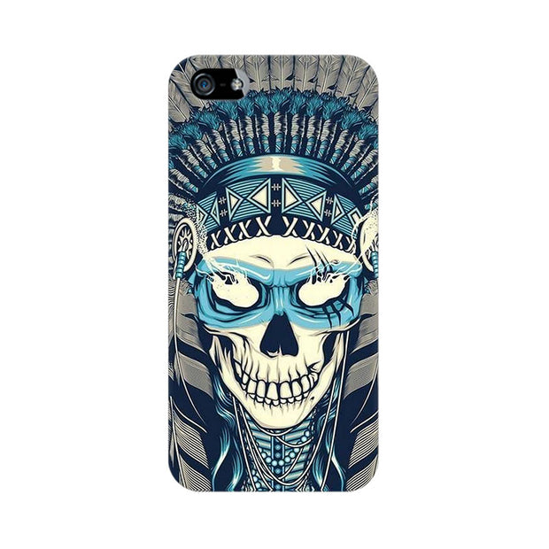 Apple iPhone 5s Indian Skull Phone Cover & Case