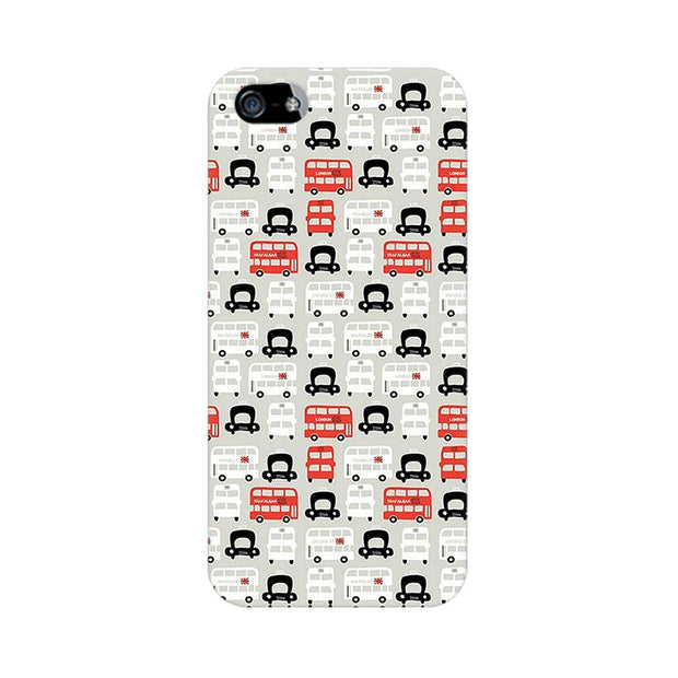 Apple iPhone 5s London Cab And Bus Phone Cover & Case