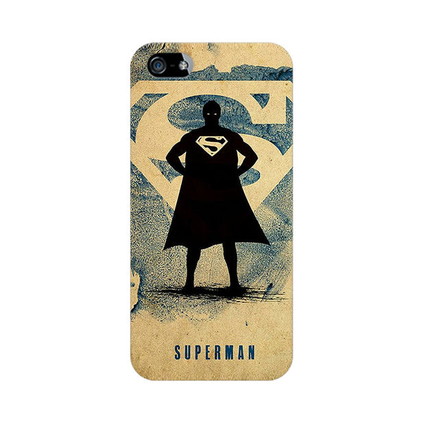 Apple iPhone 5s Superman Standing Phone Cover & Case