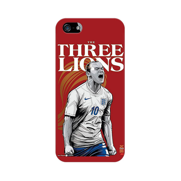 Apple iPhone 5s The Three Lions Phone Cover & Case