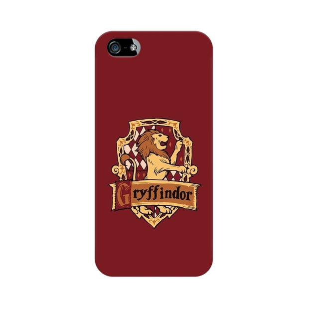 Apple iPhone 5s Gryffindor House Crest Harry Potter Phone Cover & Case
