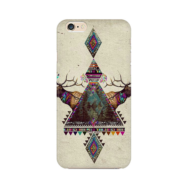 Apple iPhone 6 Deer Symmetry Phone Cover & Case