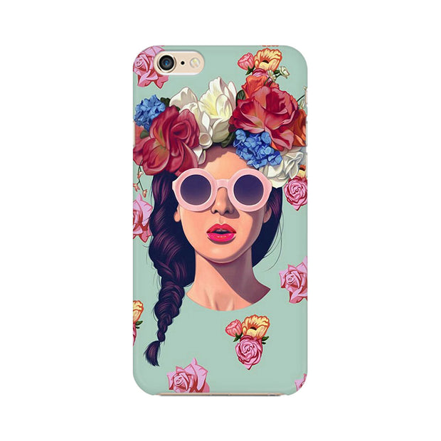 Apple iPhone 6 Floral Girl Phone Cover & Case