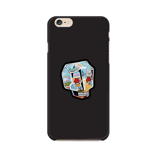 Apple iPhone 6 Skull Cartoon Phone Cover & Case