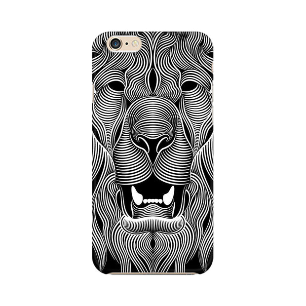 Apple iPhone 6 Wavy Lion Phone Cover & Case