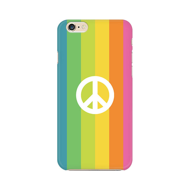 Apple iPhone 6 Plus Colorful Peace Phone Cover & Case