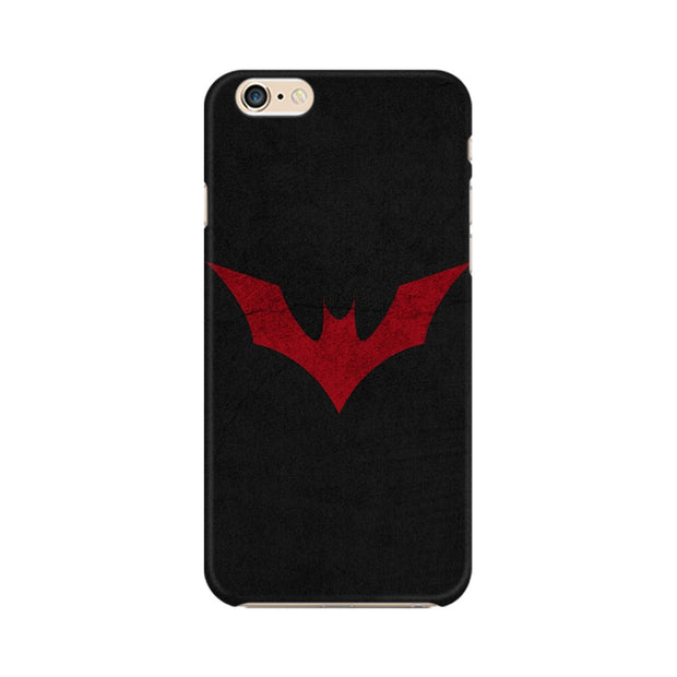 Apple iPhone 6 Plus Batman Red Logo Phone Cover & Case