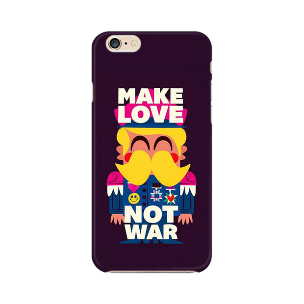 Apple iPhone 6 Plus Make Love Not War Phone Cover & Case
