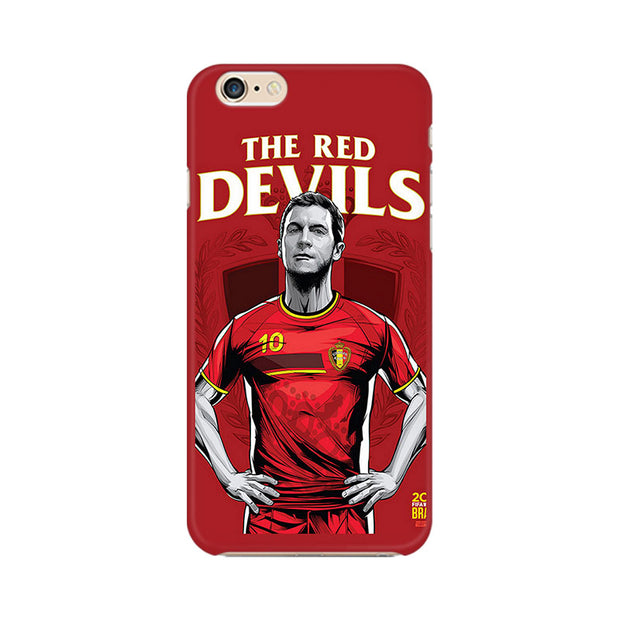Apple iPhone 6 Plus The Red Devils Phone Cover & Case